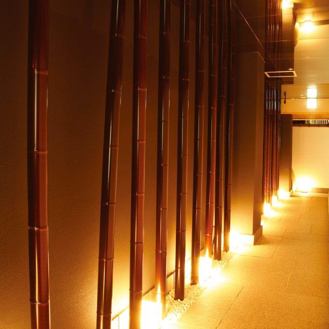 エコすす竹を店舗の内装デザインに使ってワンランク上の高級感を
