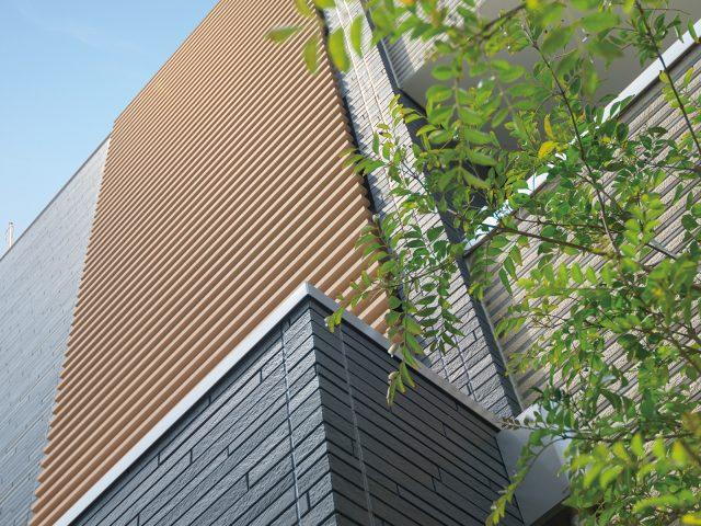 ストリンガーシリーズの格子デザインが建物をより美しく引き立てます