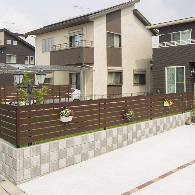 お庭のイメージに合わせて選べる豊富なデザイン