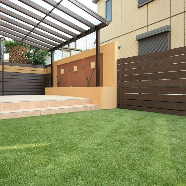 見た目にも美しく、過ごしやすい庭空間に