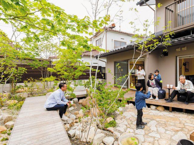 古くなったお庭をリフォーム。次の世代に新しい価値が生まれます