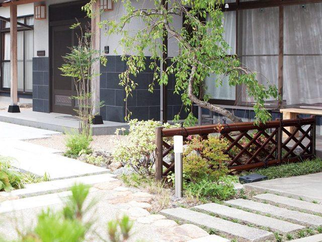 ロータイプの竜安寺垣フェンスL型