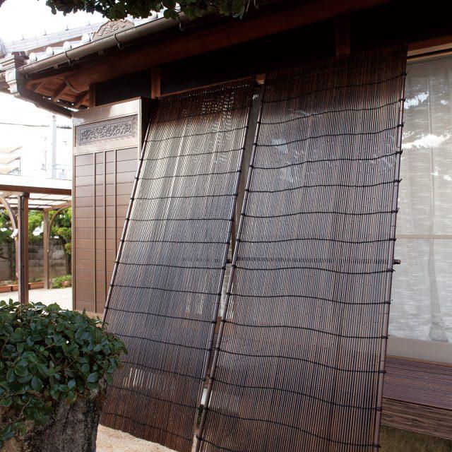 天然竹の美しさを忠実に再現した人工竹タテス