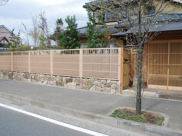 糸屋格子 京町家かれいろを採用した現場
