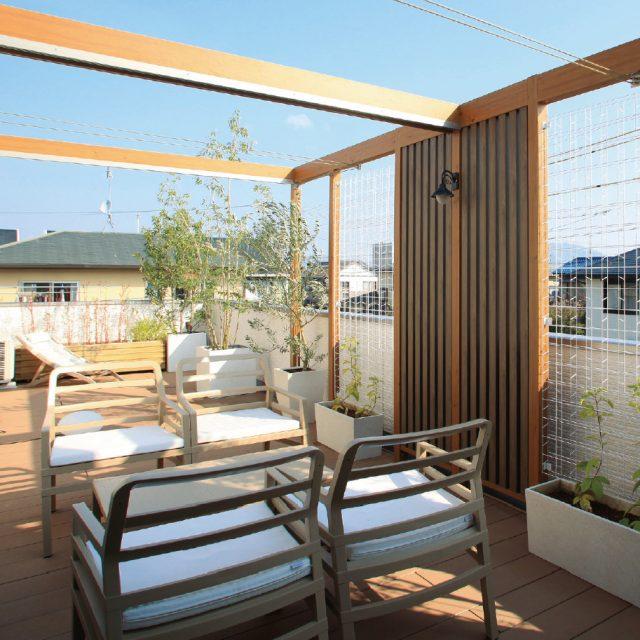 快適さと環境を考えて。屋上やベランダに作る庭