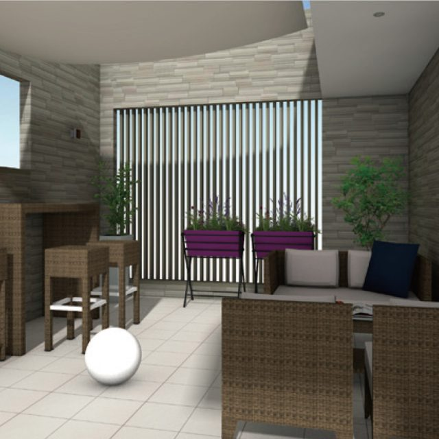 戸建住宅 屋上やテラスでできる楽しみ、憩い・緑化・菜園